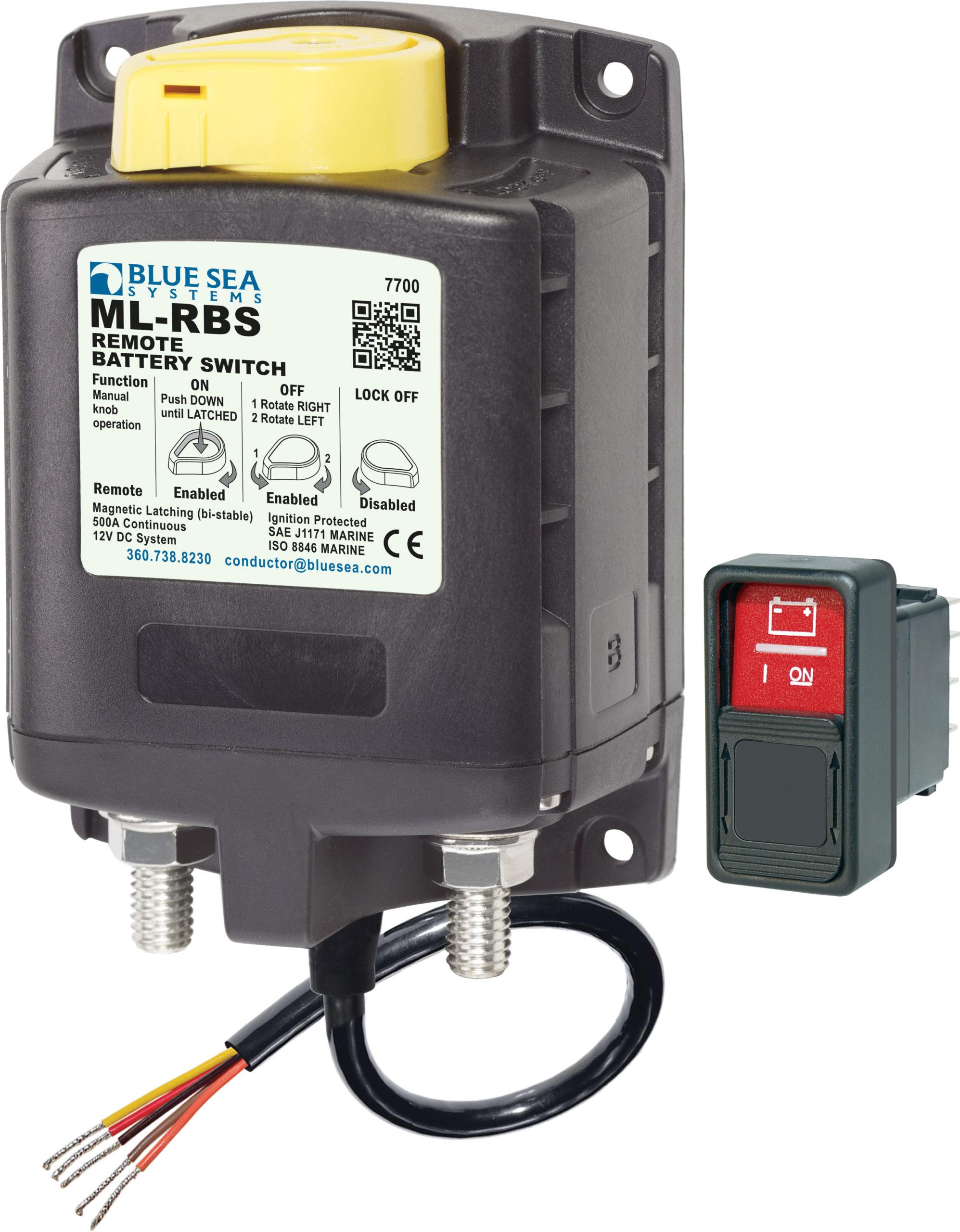 Veiligheidsrelais voor Lithium Ion batterijen